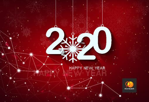 Поздравляем с 2020!